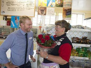 Beryl loves Harristowns tuckshop