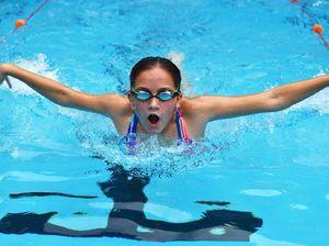 Students swim for success at Killarney State School