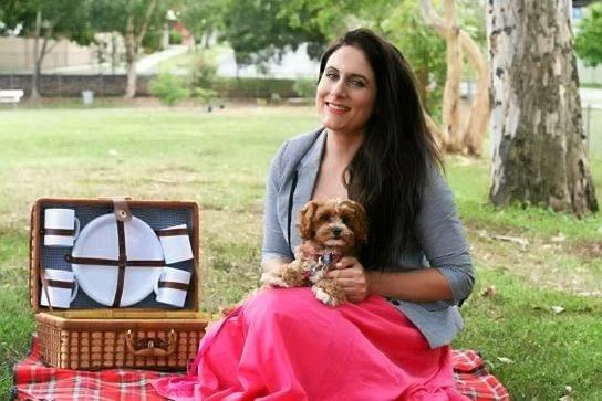 Petcloud.com.au allows pet owners to find pet minders willing to look after their pet while they're on holidays. Founder Deborah Morrison is pictured above with her own pooch, Milly.