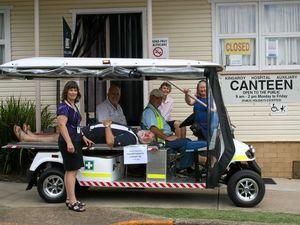Kingaroy Hospital Auxiliary donates patient medi-cab