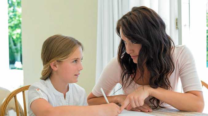 Most children get no joy from parents when they need help with homework.