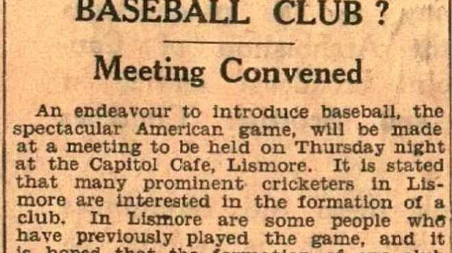 A short news item from May 11, 1937, trying to generate interest in the sport.