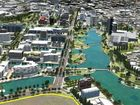 Large parts of the Maroochydore CBD will remain open space and waterways under the plan