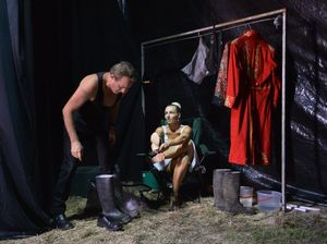 Backstage at the Circus