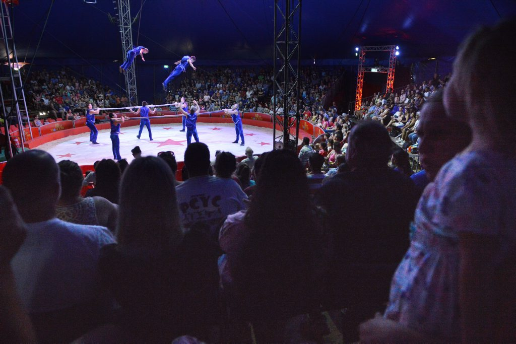Moscow Circus in Redbank on Saturday. Photo: Rob Williams / The Queensland Times