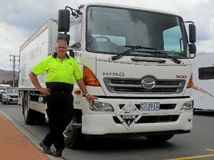 TASSIE TRUCKIN: Kerry's life on and off the road