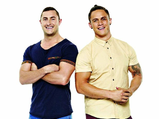 DISH DELIGHT: Miners Alex and Gareth will appear on MKR tonight.