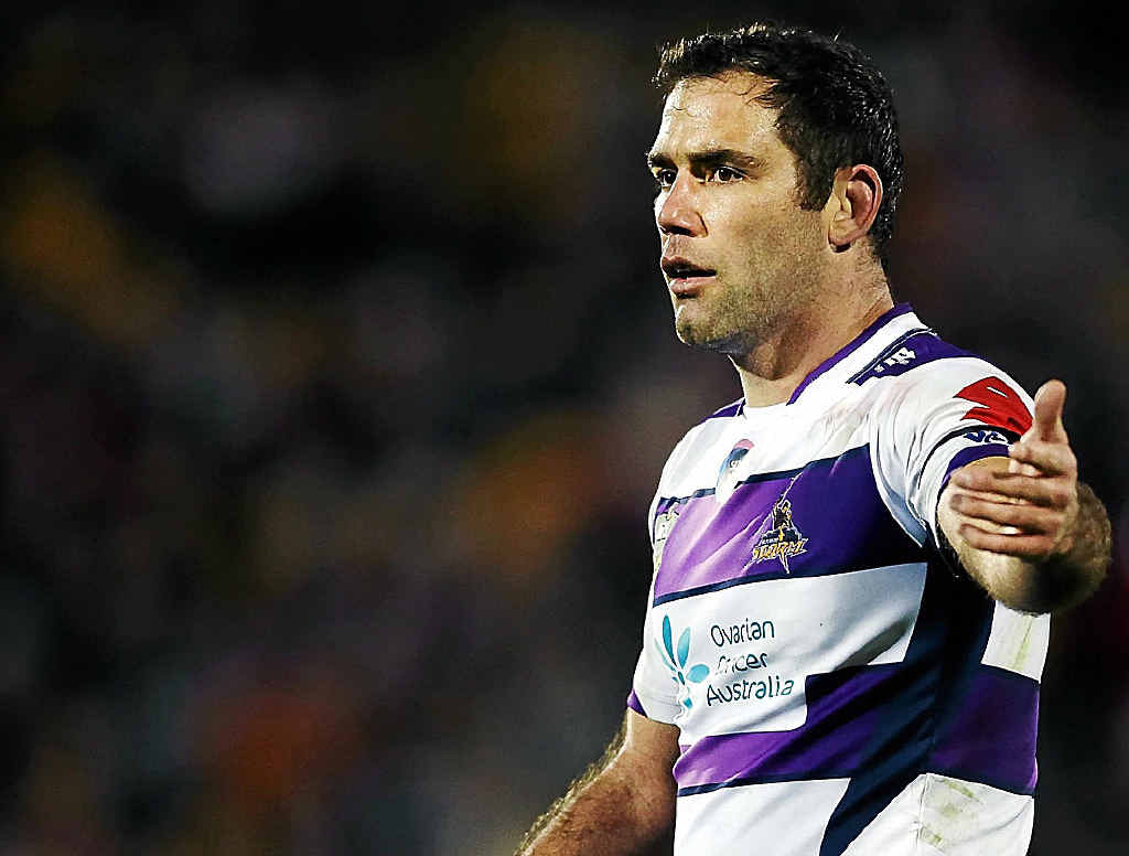 ALL FOR IT: All Stars skipper Cameron Smith has expressed his disappointment that Johnathan Thurston will not be in action for the Indigenous All Stars in Brisbane on Saturday.