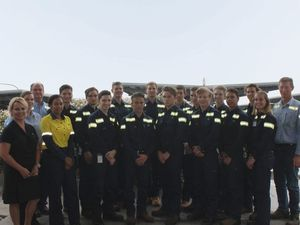 Gladstone Port Corporation takes on 15 new trainees