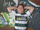 Leroy Murray is the Ipswich Jets' biggest fan Photo: Rob Williams / The Queensland Times