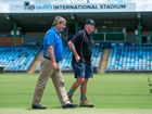 Preparations for Sheffield Shield clash well underway