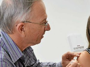Gympie vaccination rate above national average