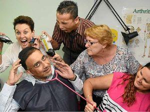Doctor prepares to lose his hair for Leukaemia Foundation