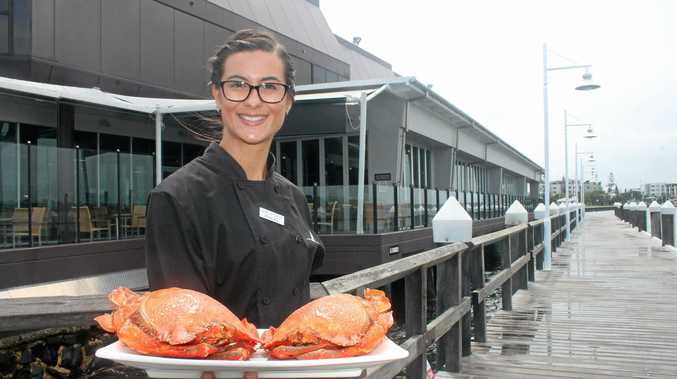 GREAT OPPORTUNITY: Ballina RSL Club apprentice chef Haley Moreland is a finalist in a national culinary competition with a dish based on crabs.