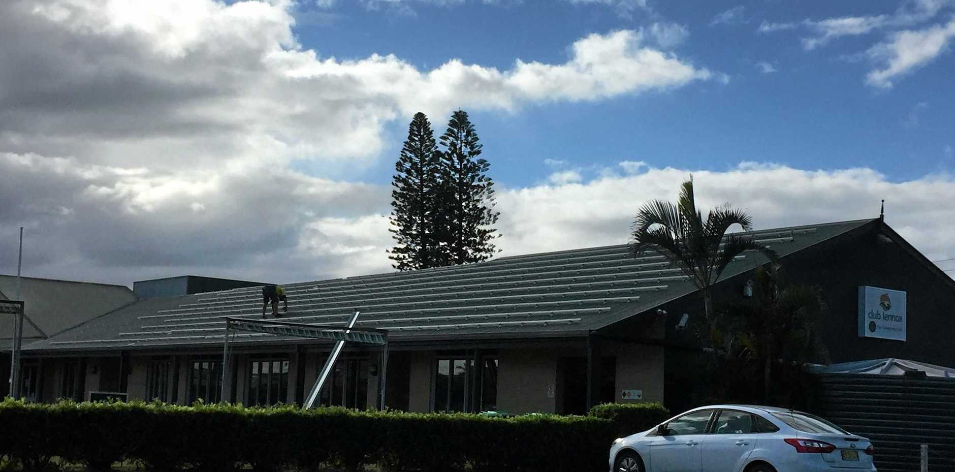 Club Lennox has announced its newest green initiative, investing more than $70,000 in a 68kw roof top solar system.
