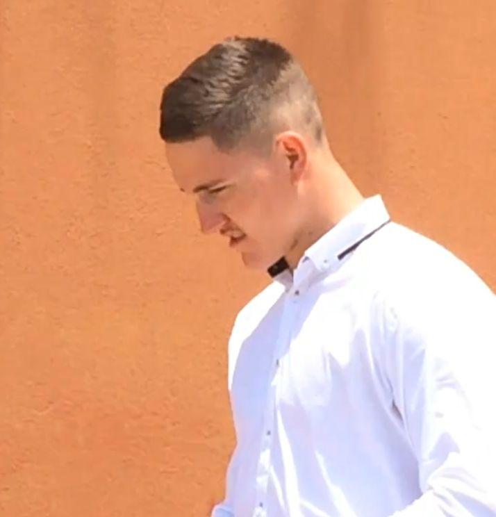 Jyde Dwyer leaves court.