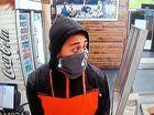 PHOTOS: Young man terrorises sandwich shop with machete