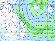 Tropical low and Tasman high too close for comfort