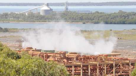 QAL Refinery in Gladstone. Photo Tom Huntley / The Observer