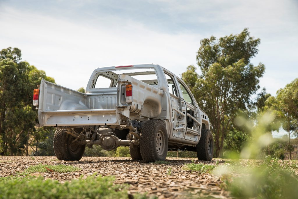 Volkswagen Amarok Naked ute. Photo: Contributed