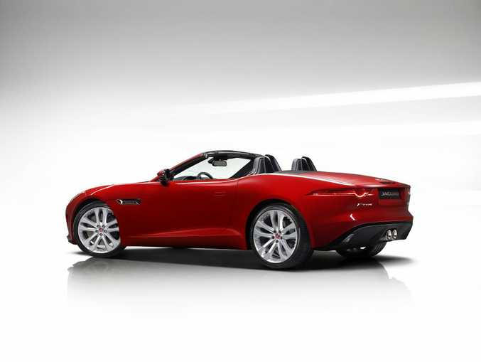 ENTRY LEVEL: $137,000 F-Type Convertible's supercharged V6 combines with excellent chassis and stunning looks in this bargain sports car.