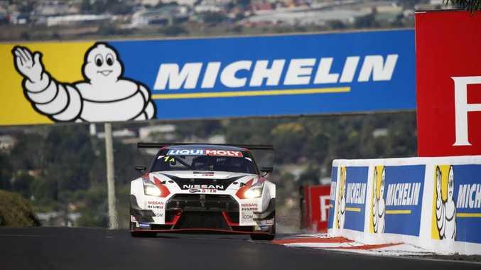 BEST IN AUSTRALIA: AJ rates Bathurst as one of the world's best race tracks.