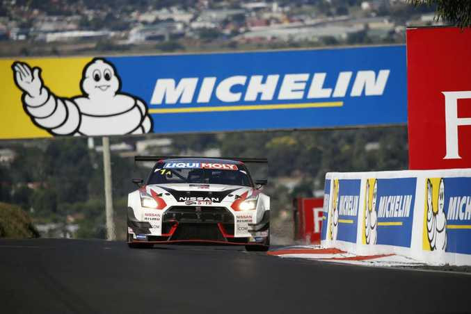 Nissan GT-R NISMO GT3 at the 2016 Bathurst 12 Hour. Photo: Contributed