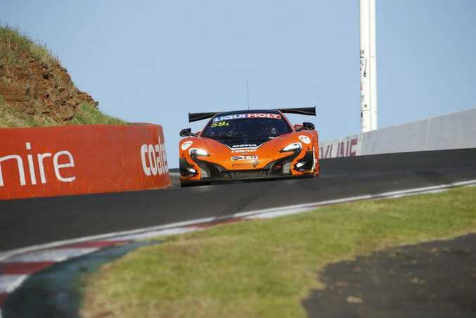 Winning McLaren 650S at the 2016 Bathurst 12 Hour. Photo: Contributed