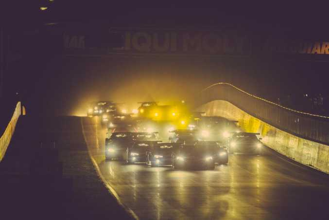 Starting in darkness at the 2016 Bathurst 12 Hour. Photo: Contributed