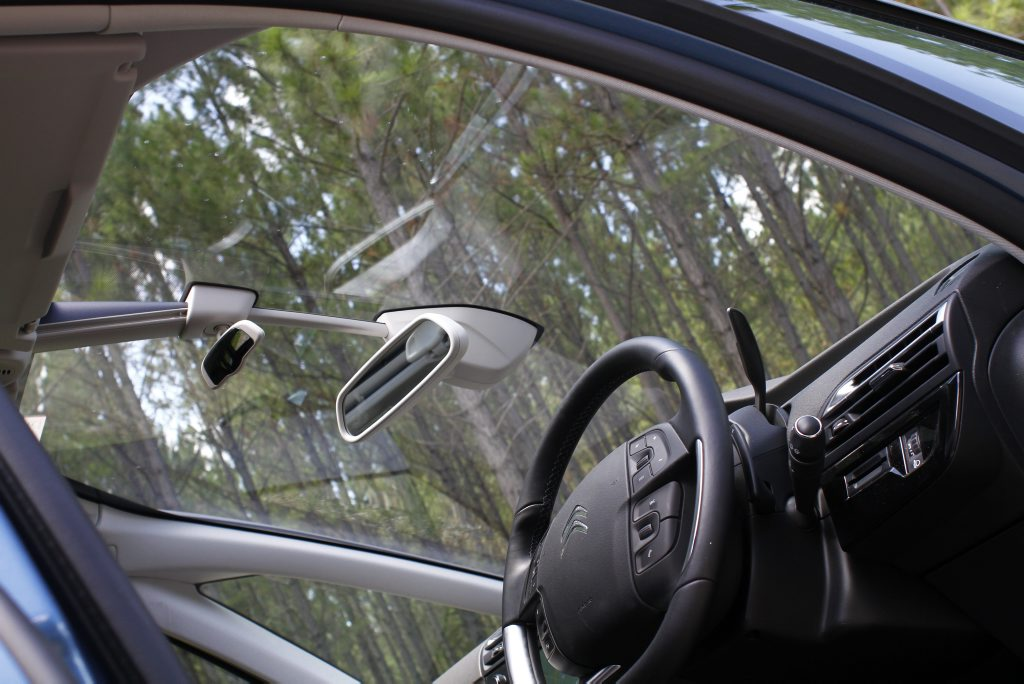 Huge windscreen on 2016 Citroen C4 Grand Picasso. Photo: Iain Curry / Sunshine Coast Daily