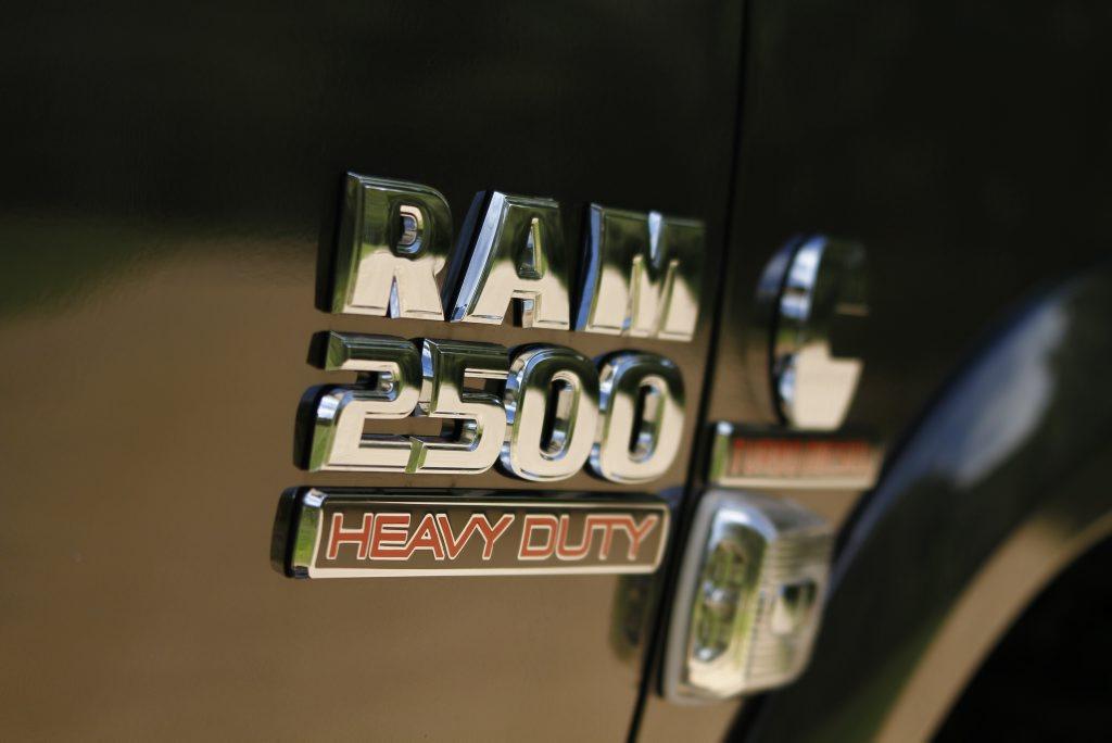 2016 Ram Trucks 2500 Laramie 4x4 Crew Cab. Photo: Iain Curry / Sunshine Coast Daily
