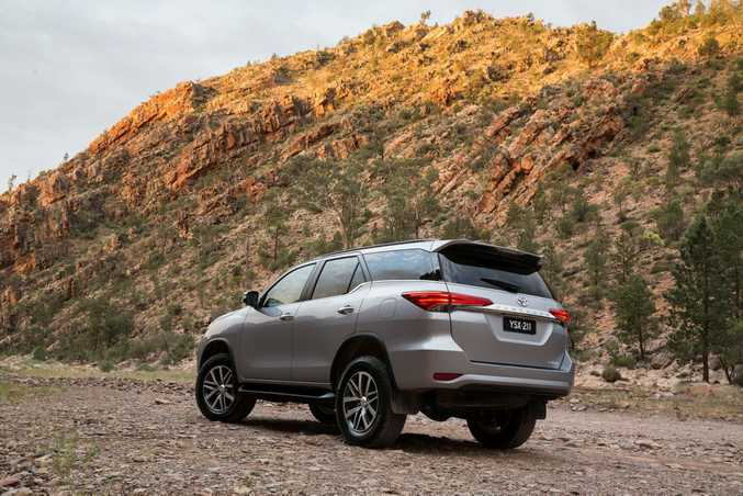 PLUSH TRAVELS: Toyota's new HiLux-based Fortuner SUV gets the family test in top-spec Crusade guise.