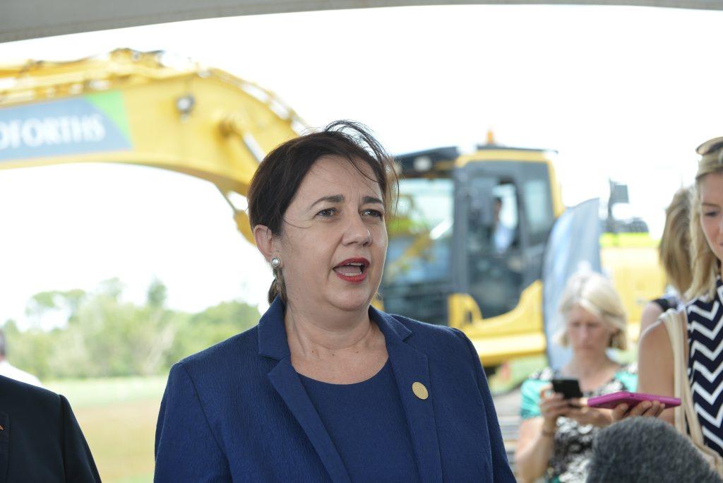 Premier Annastacia Palaszczuk was in Mackay recently to announce biofuel fund