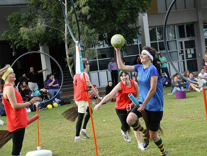 The USC Quidditch league is one of the largest social networks on campus. Photo Contributed
