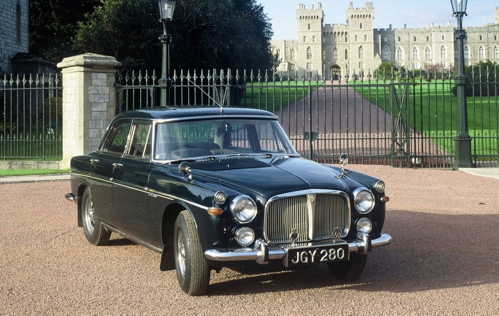 Rover P5. Photo: Contributed