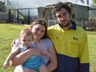 Young family loses everything in granny flat fire