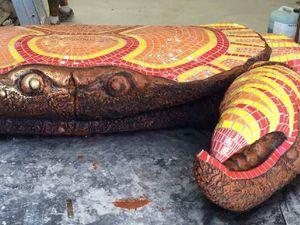 Capricorn Coast's snappy new crab sculpture