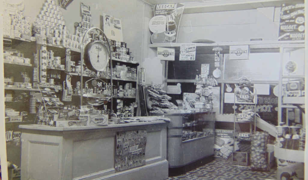 OLD TIMES: The interior of Cyril's Store in Ruthven St, Toowoomba, in the 1960s.