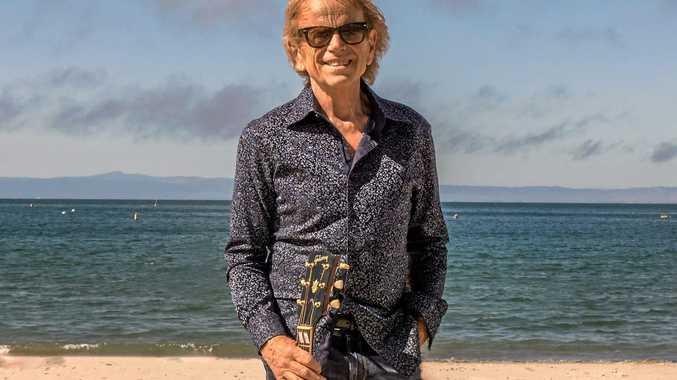 A BOY AT THE BEACH: American musician Al Jardine of the Beach Boys.