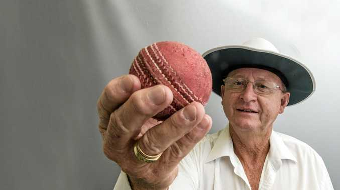 MAN IN THE MIDDLE: Clarence River umpire Jeff Hackett will adjudicate today's GDSC Premier League match between South Services and Coutts Crossing at Ellem Oval