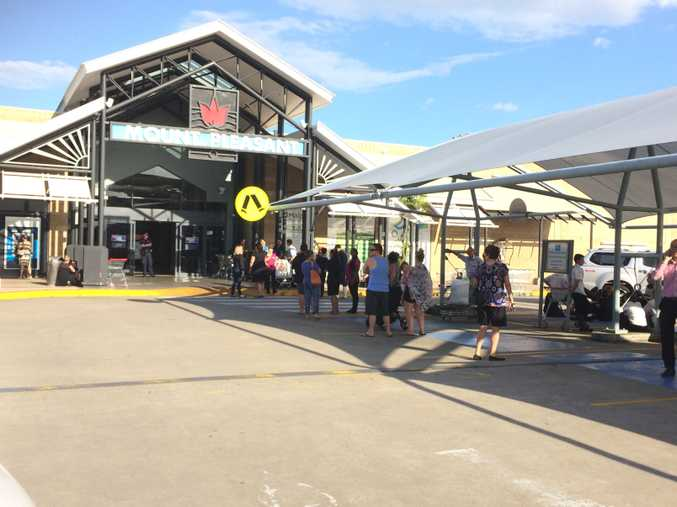 Mount Pleasant Shopping Centre has been evacuated.