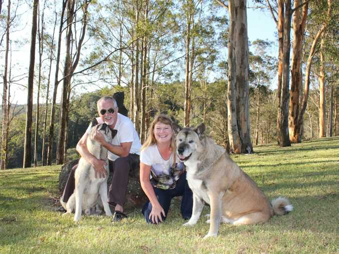 Montville cafe owners Ron and Helen Geyl will raise funds for RSPCA Qld.