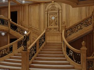 New images compare new Titanic's interior with original's