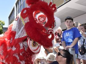 Residents usher in Year of the Monkey with banquet