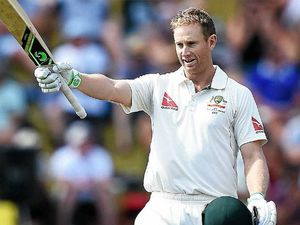 Voges makes double century after questionable call