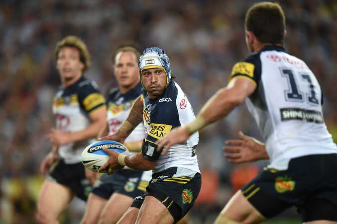 The Johnathan Thurston-led Cowboys are hot favourites at the World Club Challenge. Photo: AAP Image