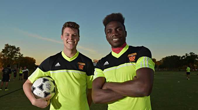 Sunshine Coast Fire imports Connor Hancock and Glody Ntumba.