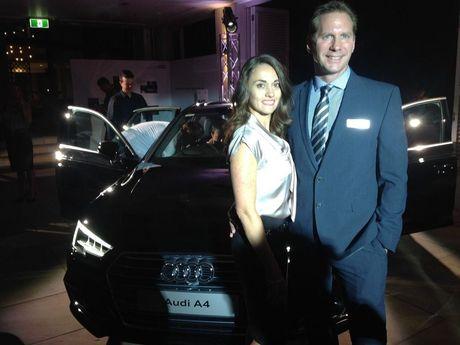 Karen and Richard Moye of Audi Centre Sunshine Coast at the Sheraton Noosa.
