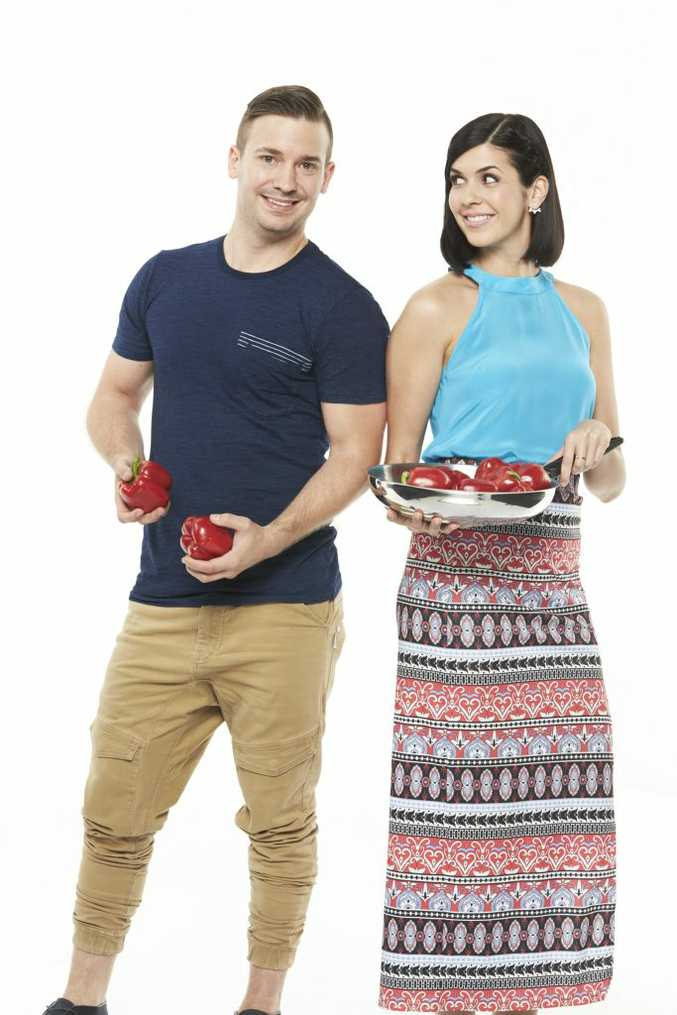 My Kitchen Rules contestants JP and Nelly.