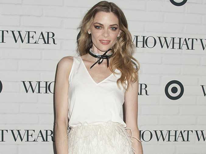 Jaime King had to leave Kanye West's fashion show after his song